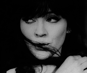 a woman is a woman, anna karina, and art image