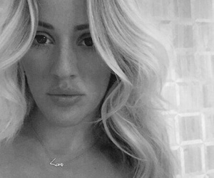 b&w, Ellie Goulding, and beautiful image