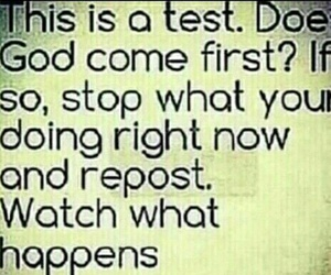 god, repost, and test image