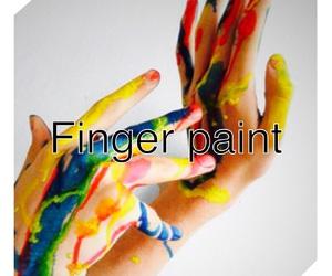 paint, finger paint, and bucketlist image