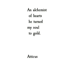 atticus, happiness, and poem image