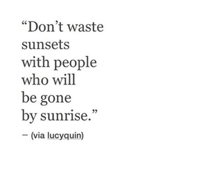 quote, sunrise, and sunset image