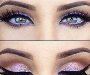 color, eyes, and glitter image