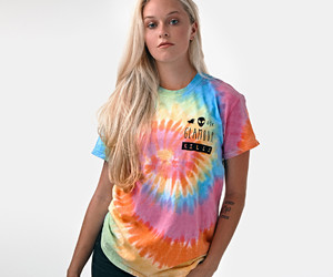 tie dye and glamour kills image