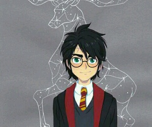harry potter, harry, and book image