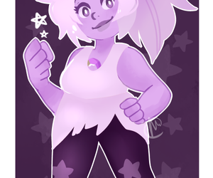 amethyst and steven universe image
