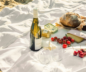 wine, goals, and picnic image