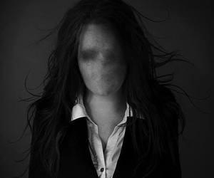 black, dark, and faceless image