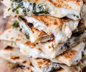 food and quesadillas image