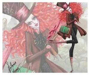 alice in wonderland, mad hatter, and movie image