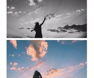 blue, happiness, and clouds image