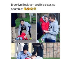 cute, brooklyn beckham, and sisters image