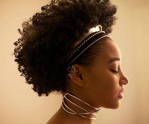 girl, amandla stenberg, and Afro image