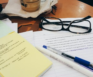 college, studyblr, and hard work image