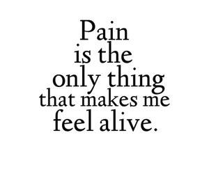 pain, sad, and alive image