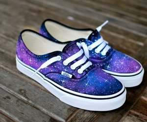 galaxy, vans, and shies image