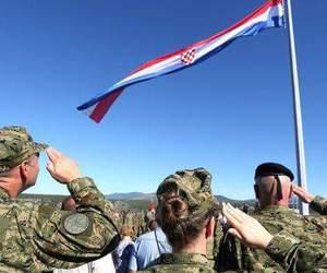 army, Croatia, and flag image