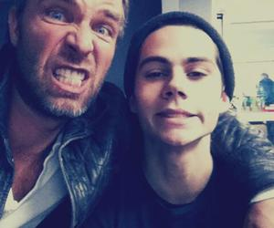 teen wolf, dylan o'brien, and jr bourne image