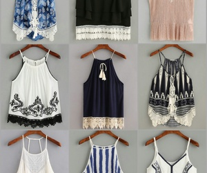 clothes, crop tops, and fashion image