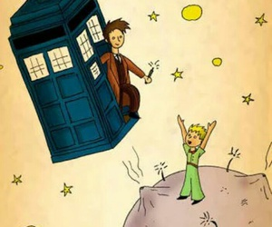 doctor who, little prince, and the little prince image