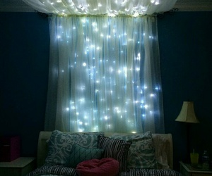 light, bedroom, and room image
