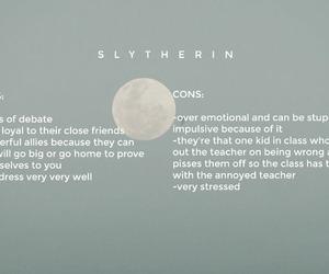 slytherin, hogwarts, and harry potter image