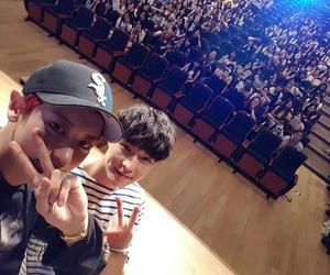 exo, chanyeol, and lay image