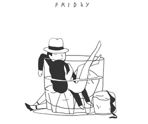 friday and art image