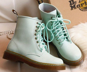 shoes, green, and pastel image