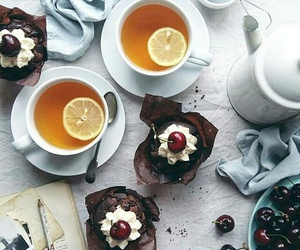 breakfast, cakes, and cupcakes image