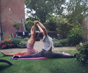fit, flexible, and garden image