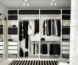 closet, clothes, and wardrobe image