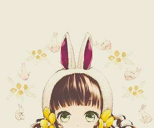 easter, girl, and cute image