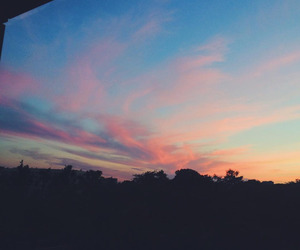 sky, nature, and pretty image