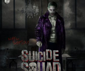 suicide squad, joker, and the joker image