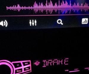 Drake, pink, and music image