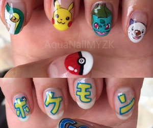 freehand, nail, and pokemon image