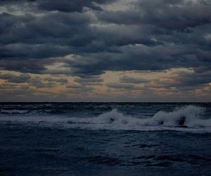 beach, sea, and waves image