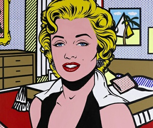 pop art and marilyn image