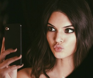 kendall jenner, model, and selfie image