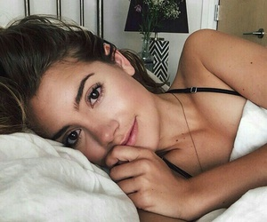 beauty, girl, and selfie image