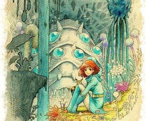 nausicaä, anime, and ghibli image