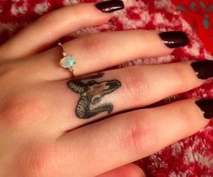 aries and tattoo image