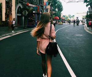 girl, city, and outfit image
