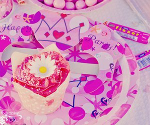 baby, party, and pink image