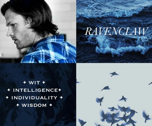 edit, ravenclaw, and sam winchester image