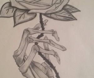 draw and flower image