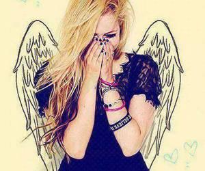 Avril Lavigne, Avril, and angel image