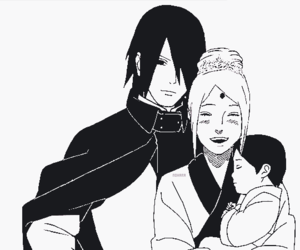 sasusaku, anime, and sakura image