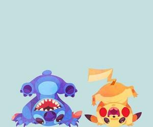 pikachu, pokemon, and stitch image